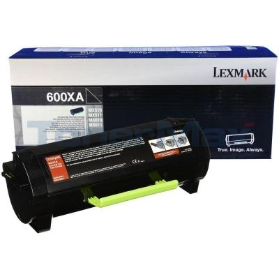 LEXMARK MX611 TONER CARTRIDGE 20K